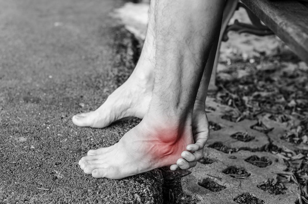 heel pain likely due to plantar fasciitis